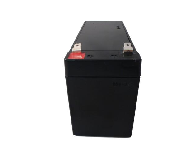 SB-GXT1000RT Liebert Flame Retardant Universal Battery - 12 Volts 7Ah - Terminal F2 - UB1270FR - 3 Pack Side| Battery Specialist Canada