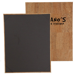 Cork Menu Boards with Corners or Strips