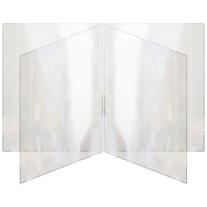 All Clear Four Panel Eight View Menu Covers