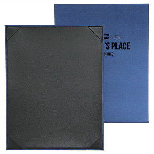 Fresca Menu Boards with Corners or Strips