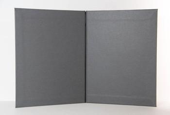 """Summit Linen Chicago Menu Board 8.5"""" x 11"""" interior."""