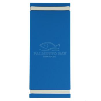 Acrylic Menu Board with Bands 4.25 x 11