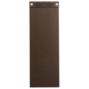 "Hardboard Menu Board with Screws 4.25"" x 14"""