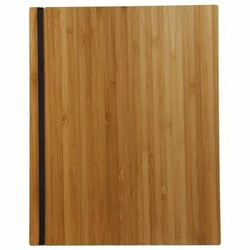 Bamboo Menu Board 8.5 x 11 with Vertical Band