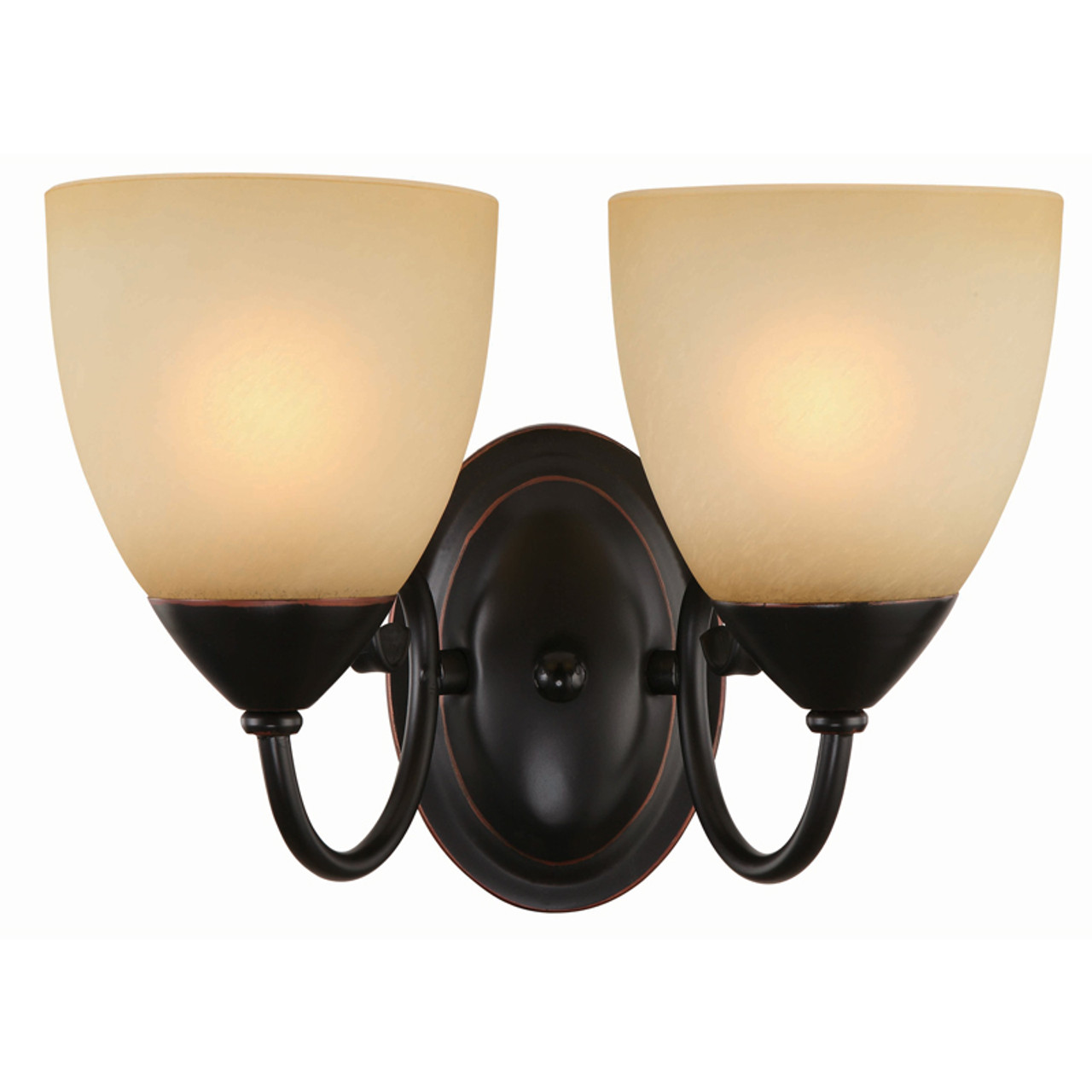 Oil rubbed bronze 2 light wall sconce bathroom fixture 16 8212 oil rubbed bronze 2 light wall sconce bathroom fixture 16 8212 aloadofball Image collections