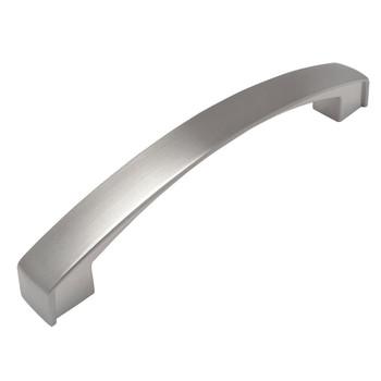 Cosmas 616-128SN Satin Nickel Subtle Arch Cabinet Pull