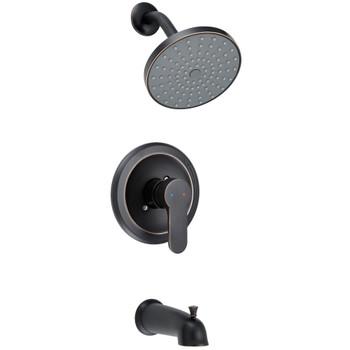 Designers Impressions 659638 Oil Rubbed Bronze Single Handle Tub / Shower Combo Faucet