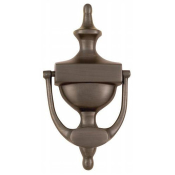 "Oil Rubbed Bronze 7"" Door Knocker: 55-2174"