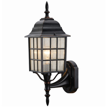 Oil Rubbed Bronze Outdoor Patio / Porch Exterior Light Fixture : 19-1555
