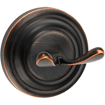 Designers Impressions 800 Series Oil Rubbed Bronze Robe Hook: BA809