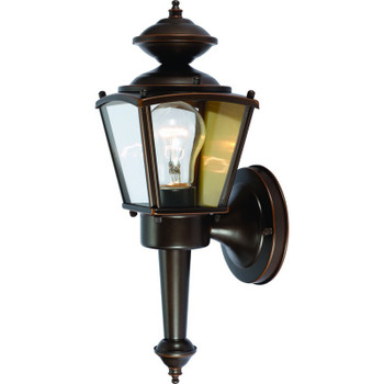 Rust Outdoor Patio / Porch Exterior Light Fixture : 54-4213