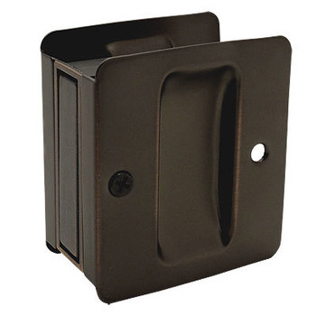 Designers Impressions Oil Rubbed Bronze Pocket Door Passage : 53881