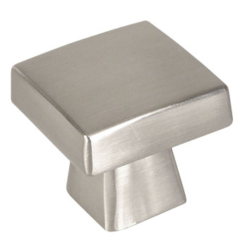 Cosmas 5233SN Satin Nickel Square Contemporary Cabinet Knob