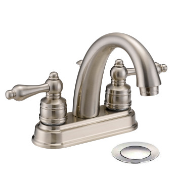 Designers Impressions 611625 Satin Nickel Lavatory Vanity Faucet