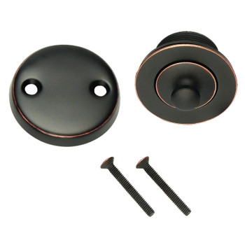 Designers Impressions 659632 Oil Rubbed Bronze Lift and Turn Drain Trim