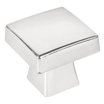 Cosmas 5233CH Polished Chrome Square Contemporary Cabinet Knob