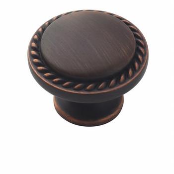 Amerock BP53001-ORB Allison Oil Rubbed Bronze Rope Cabinet Knob