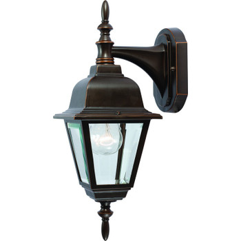 Rust Outdoor Patio / Porch Exterior Light Fixture : 54-4312
