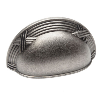 Cosmas 9461WN Weathered Nickel Cabinet Cup Pull