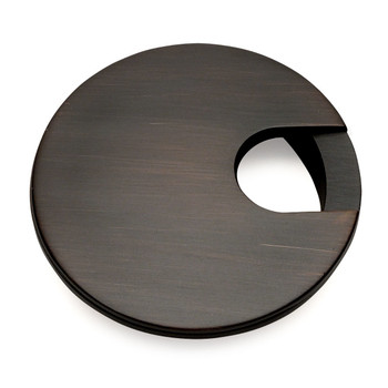 "Cosmas 50203ORB Oil Rubbed Bronze Desk Grommet - 3"" Overall Diamter"