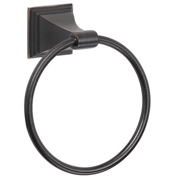 Designers Impressions 500 Series Oil Rubbed Bronze Towel Ring: BA504