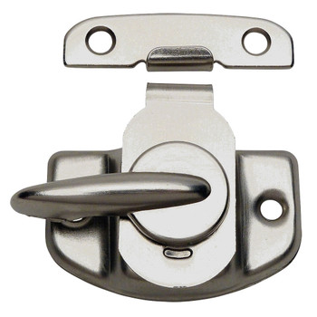 Designers Impressions Satin Nickel Cam Action Window Sash Lock and Keeper: 53621