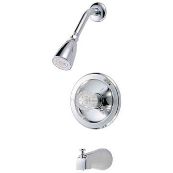 Crystal Cove 12-5567 Chrome Tub / Shower Combo Faucet