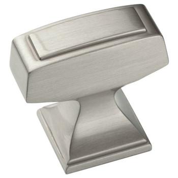 Amerock BP53029-G10 Mulholland Satin Nickel Cabinet Knob