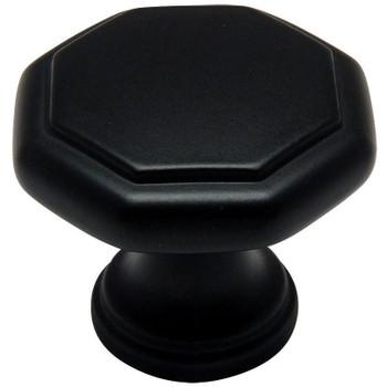 Cosmas 5181FB Flat Black Cabinet Knob
