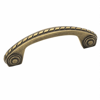 Amerock BP53470-BB Allison Burnished Brass Scroll Cabinet Pull