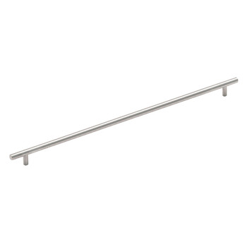 Cosmas 305-673SS Stainless Steel Cabinet Hardware Euro Style Bar Pull
