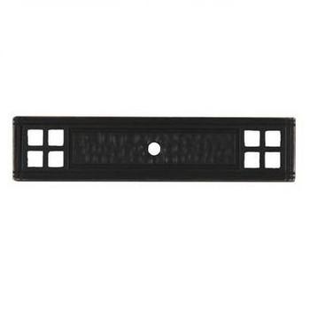 Pro Value Series SZEL1-7-ORB Oil Rubbed Bronze Zinc Cabinet Knob Backplate