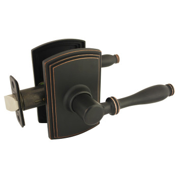 Delaney Sorado Design Oil Rubbed Bronze Passage Door Lever (Hall & Closet): 501T-SO-US10