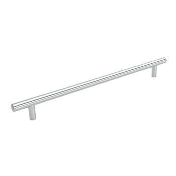 Cosmas 305-673CH Polished Chrome Cabinet Hardware Euro Style Bar Pull