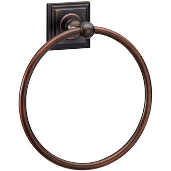 Designers Impressions Aurora Series Oil Rubbed Bronze Towel Ring: 19403