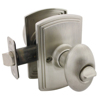 Delaney Canova Design Satin Nickel Privacy Door Knob (Bed & Bath): 102T-CN-US15