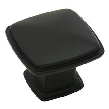 Cosmas 4391FB Flat Black Cabinet Knob