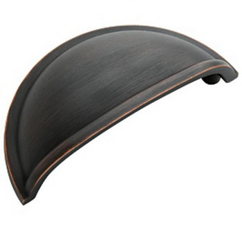 Amerock BP53010-ORB Oil Rubbed Bronze Cabinet Cup Pull