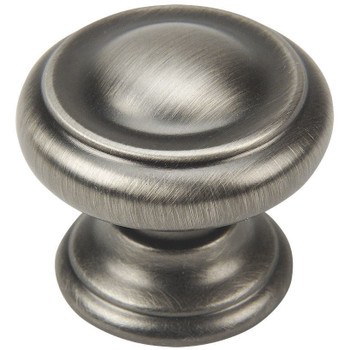 Cosmas 3317AS Antique Silver Cabinet Knob