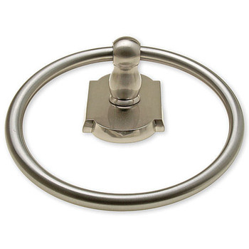 Ketchum Series Satin Nickel Towel Ring