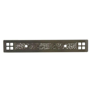 Pro Value Series SZEL1-9-SN Satin Nickel Zinc Cabinet Pull Backplate