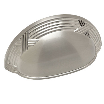 Cosmas 9461SN Satin Nickel Cabinet Cup Pull