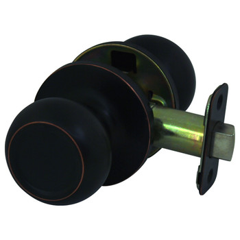 Cosmas 20 Series Oil Rubbed Bronze Passage Door Knob: DK24-ORB
