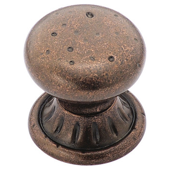 Amerock BP4485-RBZ Ambrosia Rustic Bronze Cabinet Knob
