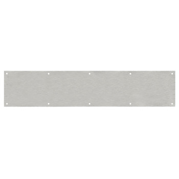 """Designers Impressions Stainless Steel 6"""" x 34"""" Kick Plate: 609445"""