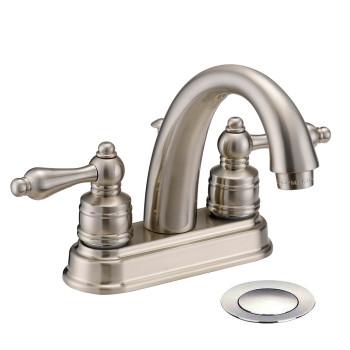 Designers Impressions 611626 Satin Nickel Lavatory Vanity Faucet