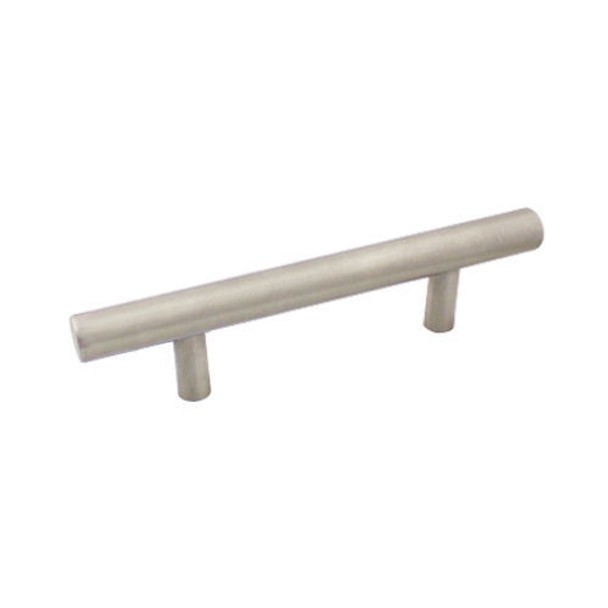 Cosmas 425-030-H-SS Stainless Steel Cabinet Hardware Euro Style Hollow Bar Pull