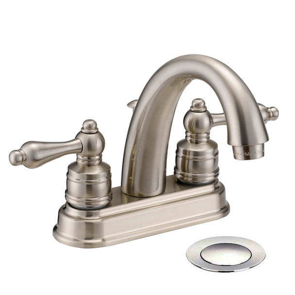 Designers Impressions 611625 Satin Nickel Lavatory Vanity Faucet