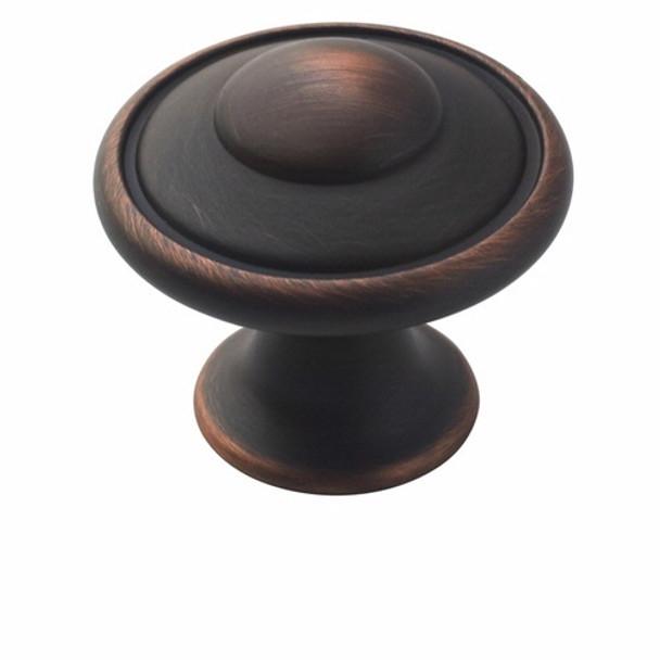 Amerock BP53002-ORB Allison Oil Rubbed Bronze Discus Cabinet Knob