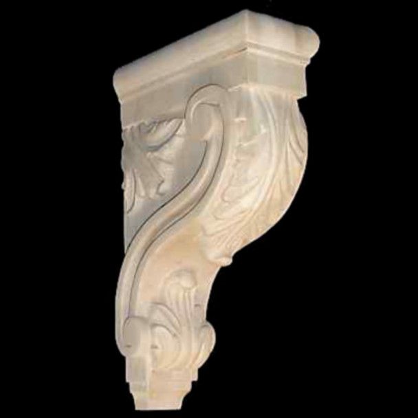 Wood Corbel Bar Bracket Support Rubberwood CVCAR-13-RW